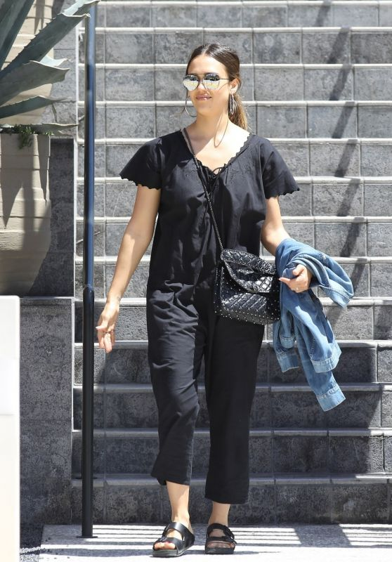 Jessica Alba - Out in Beverly Hills 06/09/2018