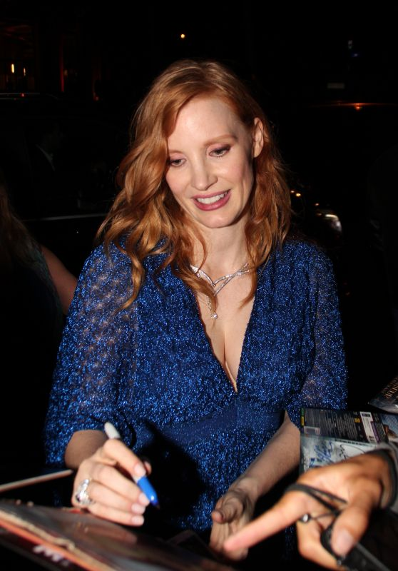 Jessica Chastain - Piaget Event in Paris 06/18/2018