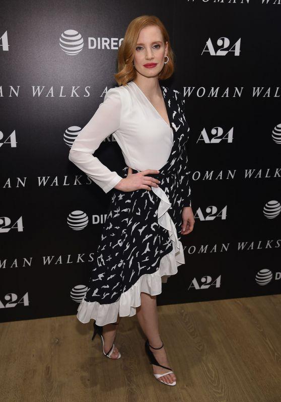 "Jessica Chastain - ""Woman Walks Ahead"" Screening in NY"