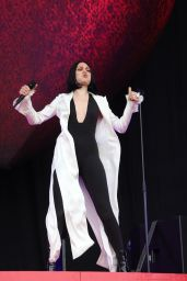 Jessie J - Performs at the Isle of Wight Festival 06/23/2018