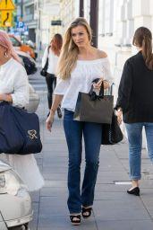 Joanna Krupa - Shopping in Warsaw 06/11/2018