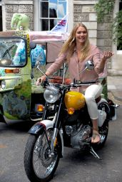 Jodie Kidd - Launch of Elephant Family Charity