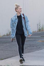 Jordyn Jones - Heading to a Dance Studio in LA 06/20/2018
