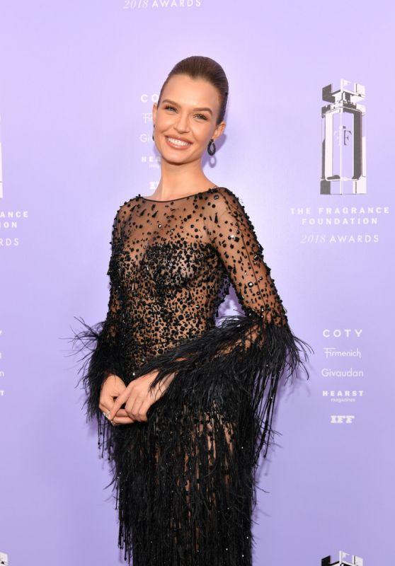 Josephine Skriver – 2018 Fragrance Foundation Awards in NYC