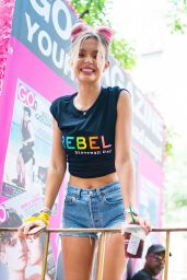 Josephine Skriver - 2018 New York City Pride March 06/24/2018