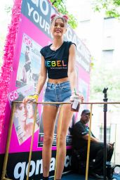 Josephine Skriver - 2018 New York City Pride March 06/24/2018