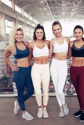 Josephine Skriver - Studio Tone It Up Live! in Brooklyn