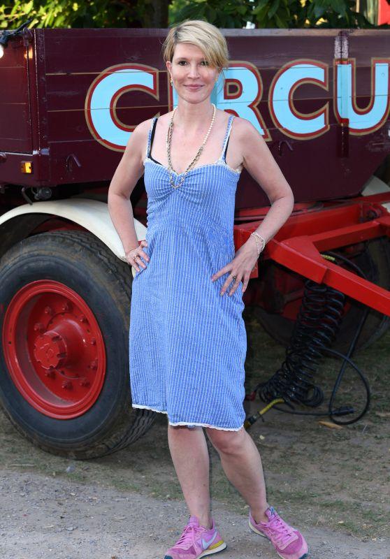 Julia Davis - Giffords Circus Press Night in London 06/28/2018