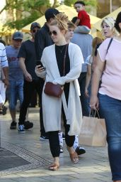Julianne Hough Makeup Free - The Grove in Los Angeles 06/10/2018