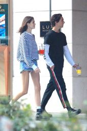 Kaia Gerber and Friend Travis Jackson - Out Together in Los Angeles 06/21/2018