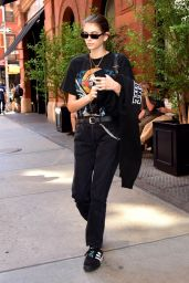 Kaia Gerber - Leaves Her Hotel in NYC 06/29/2018