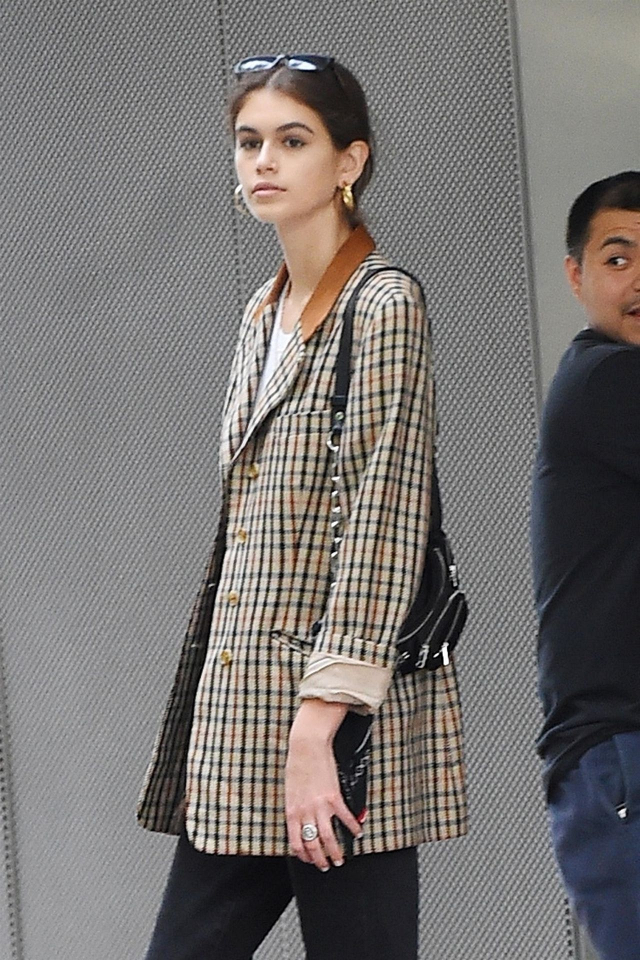 Kaia Gerber - Shopping for a New Apartment With Cindy