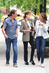 Kaia Gerber - Shopping for a New Apartment With Cindy Crawford and Rande Gerber in NYC 06/13/2018