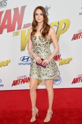 """Karen Gillan – """"Ant-Man and the Wasp"""" Premiere in LA"""