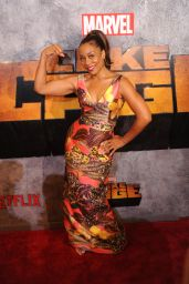 "Karen Pittman - ""Luke Cage"" TV Series Premiere in New York"