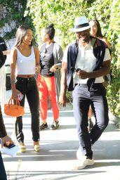 Karrueche Tran - Outside Los Angeles LGBT Center in Hollywood 06/24/2018