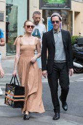 Kate Bosworth - Shopping at Dior, Prada, Yves Saint Laurent and Miu Miui in Paris 06/29/2018