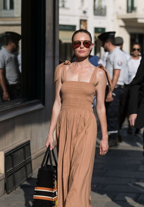 Kate Bosworth - Shopping at Dior, Prada, Yves Saint Laurent and Miu Miui in Paris 06/29/2018