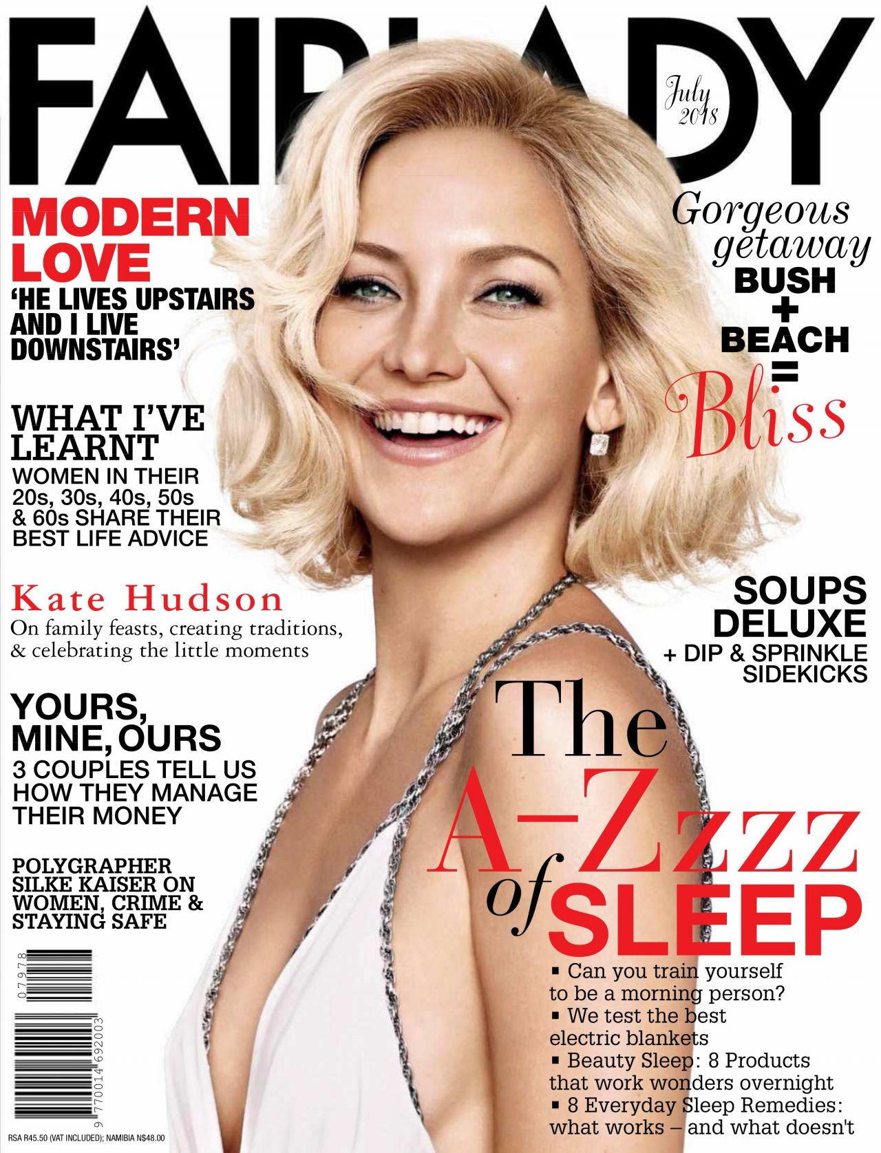 Kate Hudson Fairlady Magazine Usa July 2018