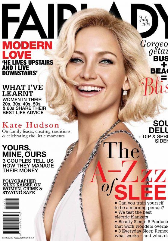 Kate Hudson - Fairlady Magazine USA July 2018
