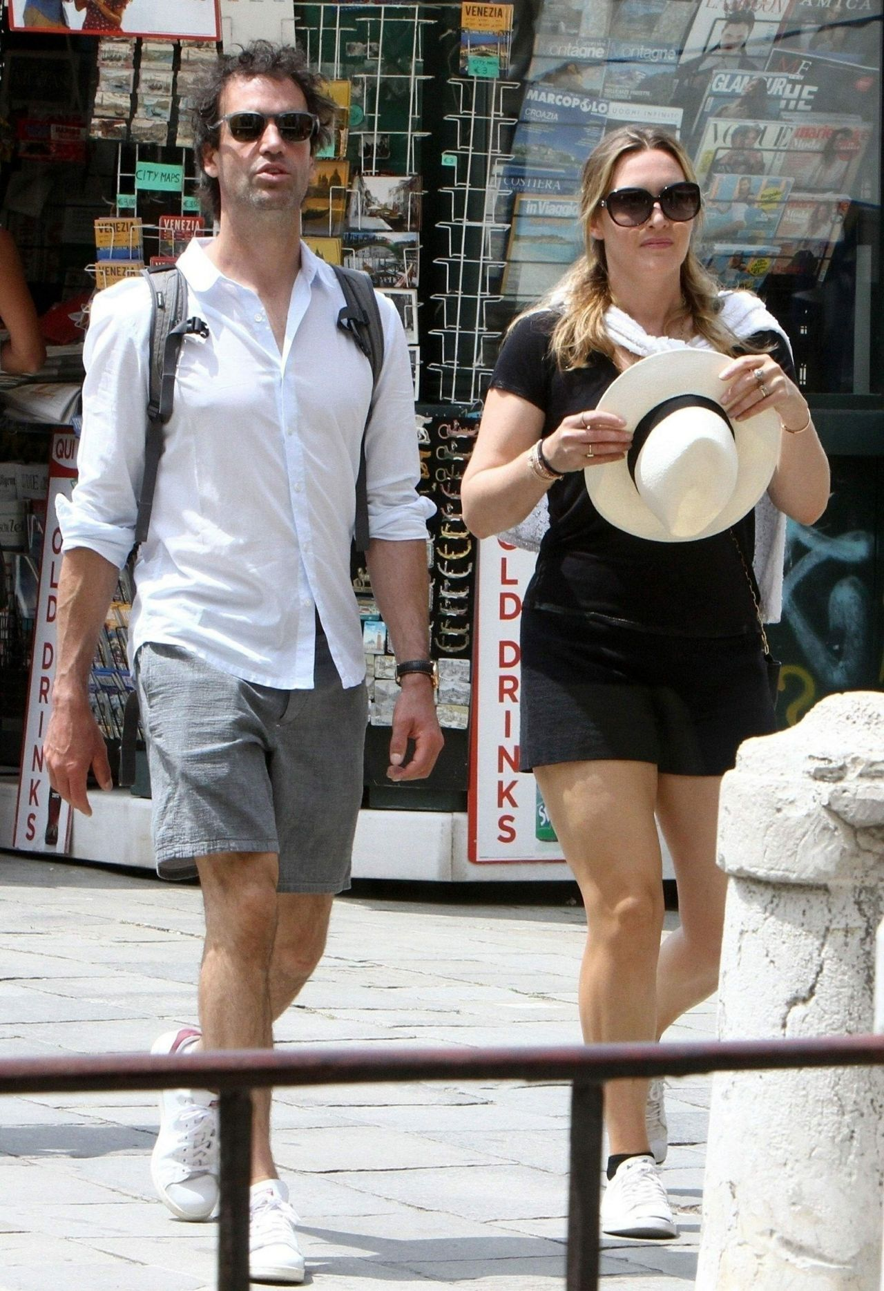 Kate Winslet And Her Husband On A Holiday In Venice 06092018-5842