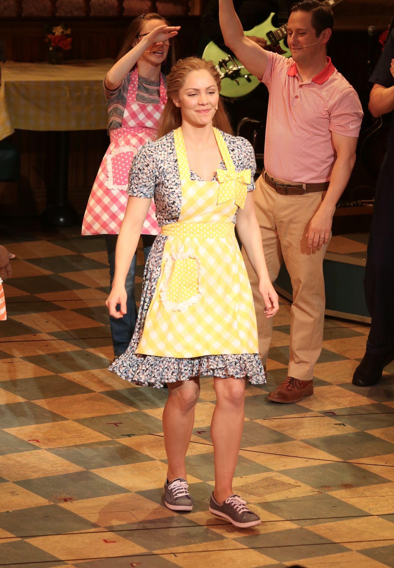 Katharine Mcphee Musical Waitress At Broadway In Ny 06 05 2018