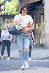 Katharine McPhee - Shopping around Madison Avenue in NYC 06/16/2018