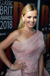 Katherine Jenkins - 2018 Classic Brit Awards in London