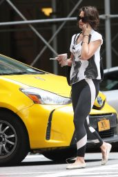 Katie Holmes - Heads to the Gym in NYC 06/26/2018