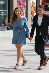 Kelly Brook at the ITV Studios in London 06/13/2018