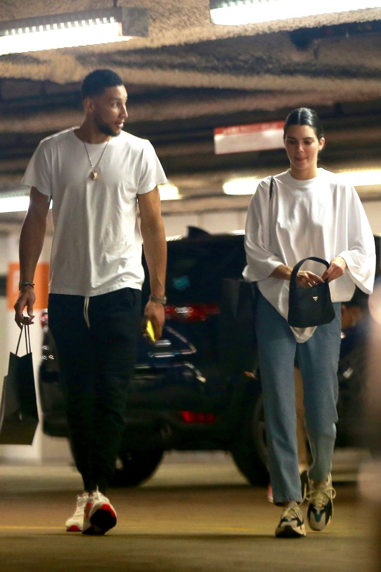 Kendall Jenner And Ben Simmons Go Shopping At Barneys Ny