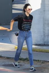 Kendall Jenner at a Japanese BBQ Restaurant in LA 06/27/2018