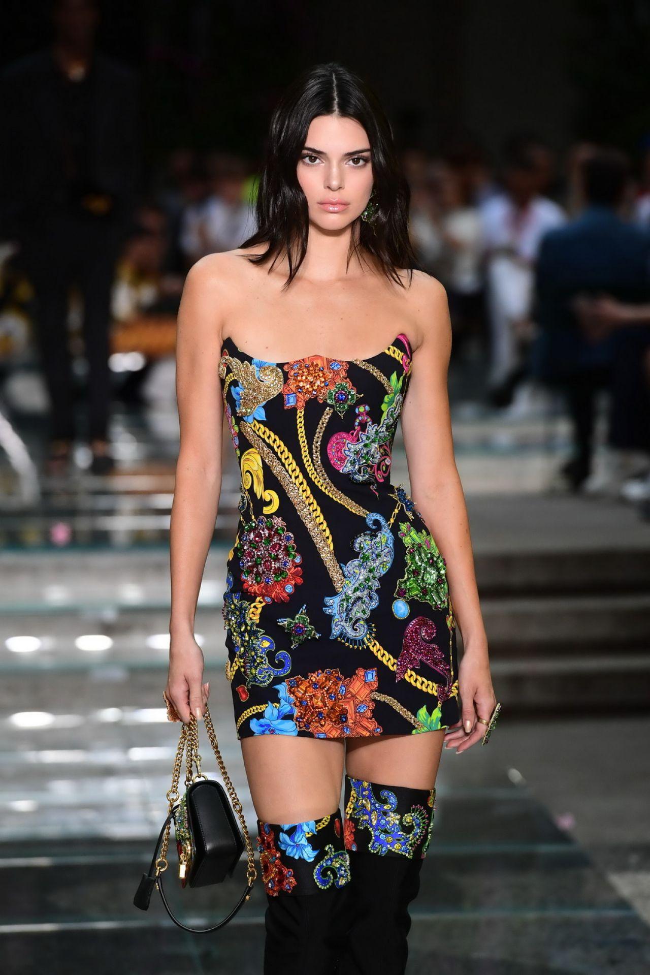 Versace Show S/S 2019 At Milan Fashion