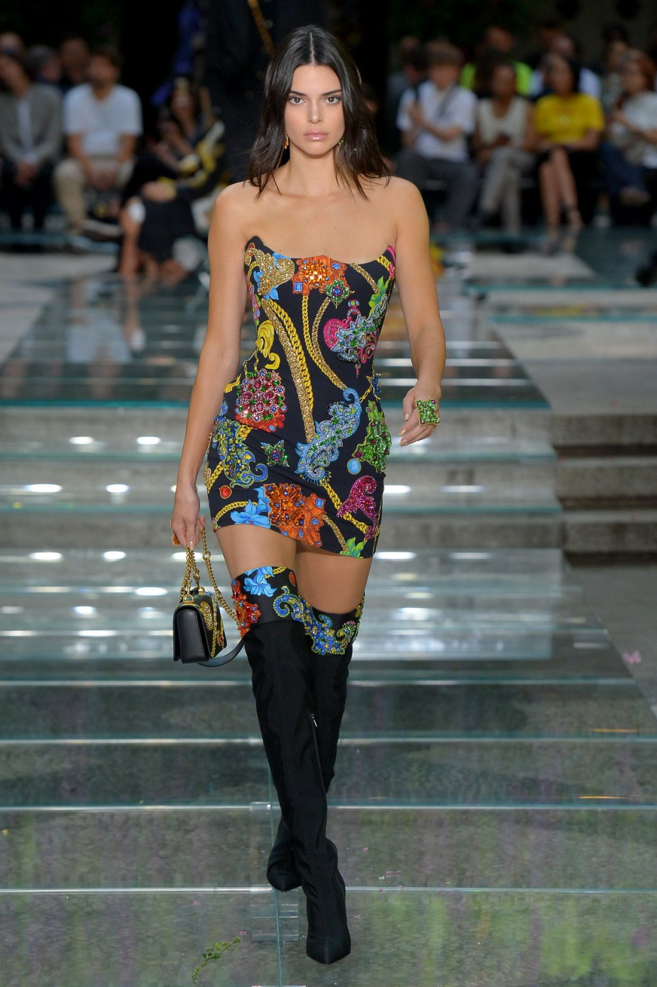 Kendall Jenner – Versace Show S/S 2019 at Milan Fashion