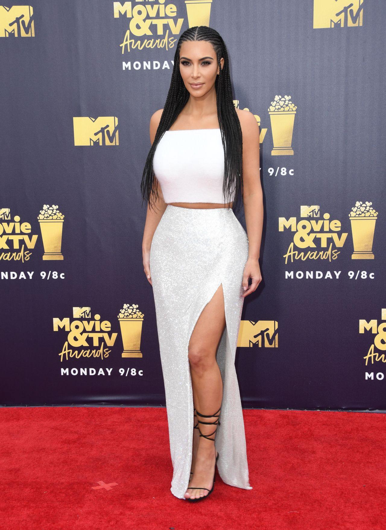 Kim Kardashian – 2018 MTV Movie And TV Awards in Santa Monica Kim Kardashian