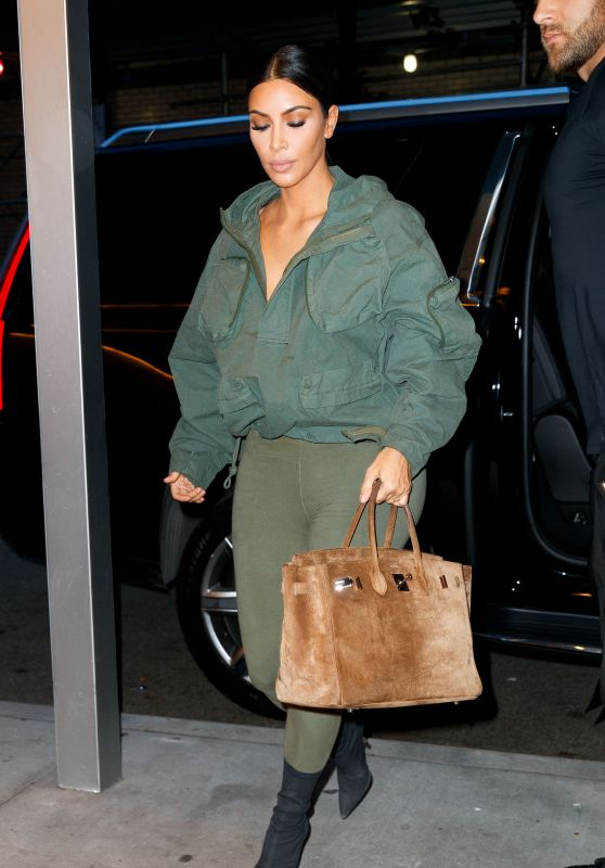 Kim Kardashian Casual Style - NYC 06/07/2018