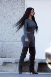 Kim Kardashian - Leaving a studio in Calabasas 06/11/2018