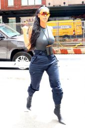 Kim Kardashian Urban Street Style - New York City 06/15/2018