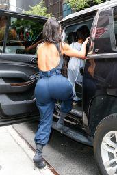 Kim Kardashian Urban Street Style - New York City 06/15/2018