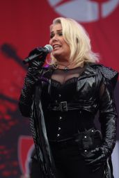 Kim Wilde - Performs at Parkpop Festival in Den Haag, June 2018
