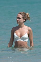 Kimberley Garner at Elia Beach in Greece 06/12/2018
