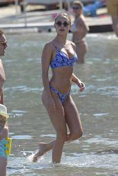 Kimberley Garner in Bikini at the Beach in Mykonos 06/13/2018