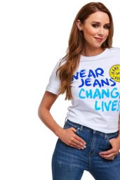 Kimberley Walsh and Una Healy - Jeans For Genes Photoshoot 2018