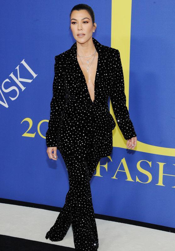 Kourtney Kardashian – 2018 CFDA Fashion Awards in NYC