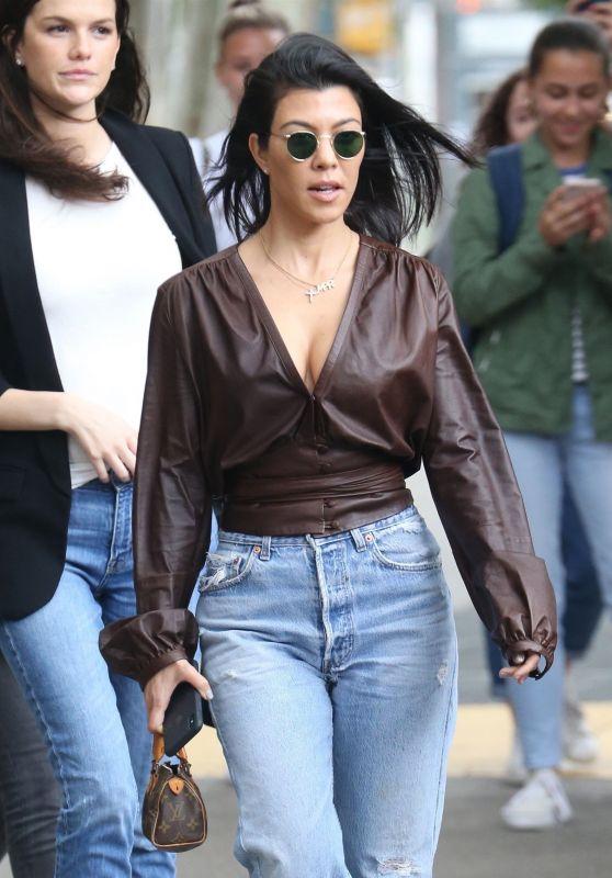 Kourtney Kardashian Style - Out in New York 06/06/2018