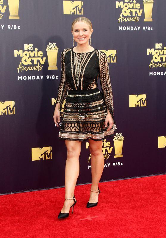 Kristen Bell – 2018 MTV Movie And TV Awards in Santa Monica