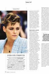 Kristen Stewart - Mujer Hoy Magazine 06/23/2018