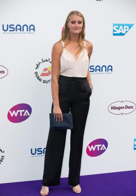 Kristina Mladenovic – WTA Tennis on The Thames Evening Reception in London 06/28/2018