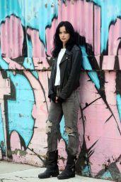 """Krysten Ritter - """"Jessica Jones"""" Season 3 Filming in NYC 06/21/2018"""