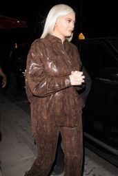 "Kylie Jenner - Leaving ""StassieBaby"" Birthday Dinner at TAO in Hollywood 06/09/2018"